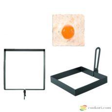 Tükörtojás forma, négyzet