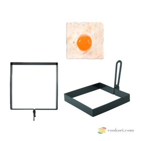 Square egg mould