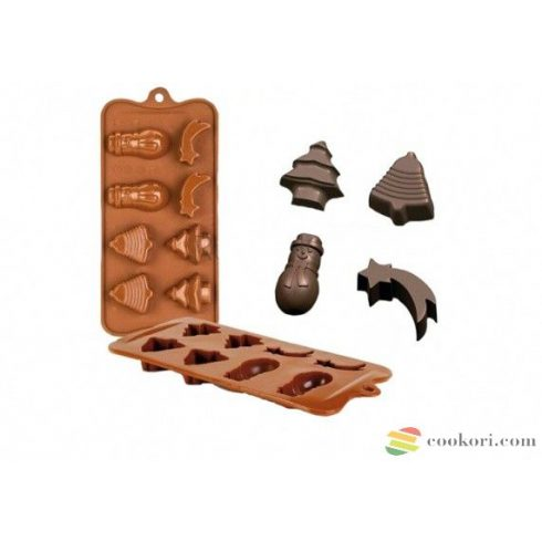 Ibili Silicone chocolate pan