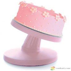 Ibili Forgatható dönthető tortatál, 23cm