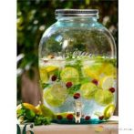 Limonádé készítő üveg, 12,5L