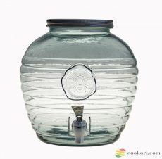 Csapos limonádés üveg 8L