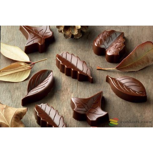 Silikomart Bonbon forma, levelek