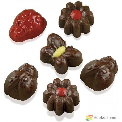 Silikomart Choco Springlife silicone mould SCG24