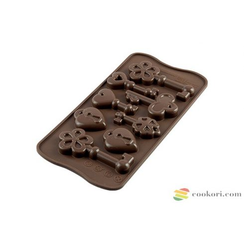 Silikomart Choco Keys SCG33