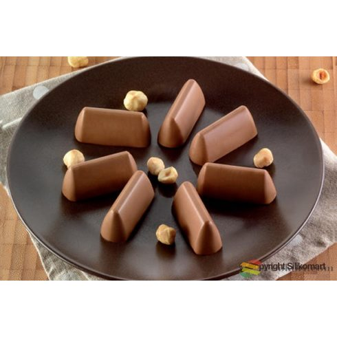 Silikomart Chocogianduia silicone mould (SF2125)