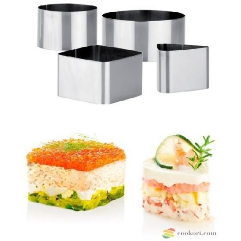 Tescoma Food shaping moulds, 4pcs