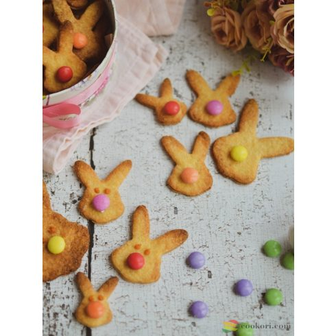 Tescoma Duble-sided cookie cutters bunnies, 4 sizes