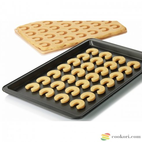 Tescoma Cookie cutting sheet for crescent-shaped rolls