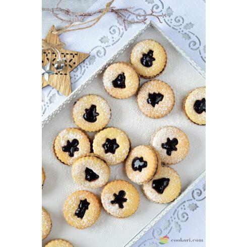 Tescoma Karácsonyi linzer kiszúró készlet, 8 db-os