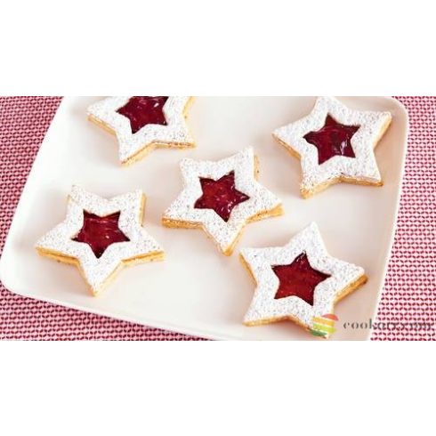 Tescoma Star shaped cookie cutters, 6pcs
