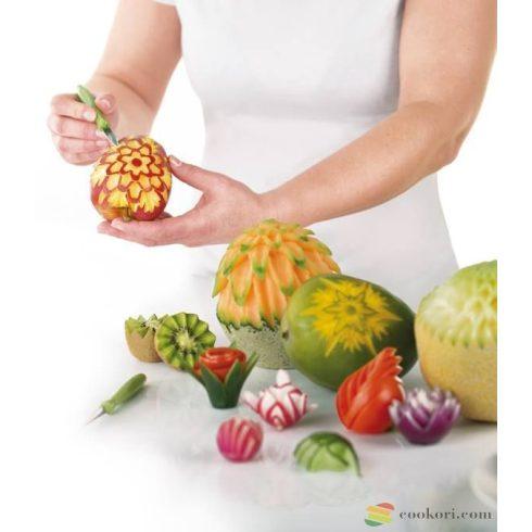 Tescoma Presto zöldségdíszítő készlet, 7db-os