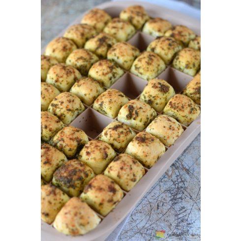Tescoma Mini bukta sütőforma, recepttel