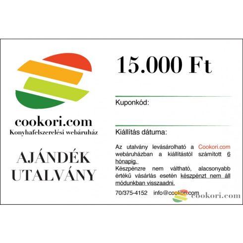 Cookori Ajándék utalvány 15.000 Ft