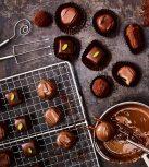 Bonbon, csokis keksz, házi csoki készítés