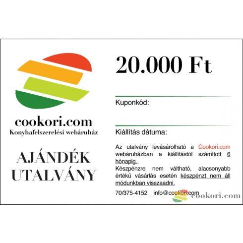 Cookori Ajándék utalvány 20.000Ft
